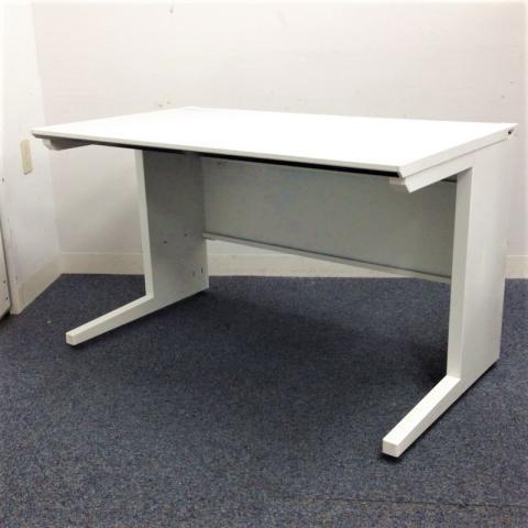 スタンダートテーブル コクヨ iS ホワイトデスク 配線構造に配慮