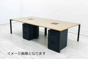 【デスクワゴンセット!】おしゃれデスク入荷です!■コクヨ■ワークフィット (Workfit Desk)