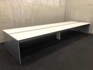 【フリアド】W4800サイズ(ホワイト天板)|コクヨ(kokuyo)|ワークヴィスタ|推奨:8名用~【A】【倉庫在庫品】