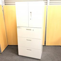 【1台入荷!】H1800の人気の書庫が入荷!オフィス ホワイト 中古 PLUS 書庫 移転 拠点