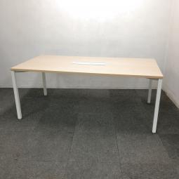 【1台限定】ウチダ製のミーティングテーブルを入荷致しました!中古 テーブル おしゃれ オフィス ナチュラル天板