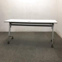 【1台限定】内田洋行の人気サイドスタックテーブルが入荷しました!中古 テーブル オフィス 会議 ミーティング ホワイト