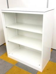 【オープン書庫】オカムラ レクトライン ホワイト 棚板2つの3段【人気商品】【京都・滋賀】