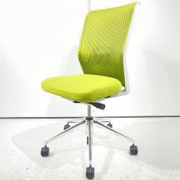 【海外製人気デザインチェア】ヴィトラ ID メッシュ ライトグリーン ハイバック 肘無 オフィス リモートワーク 在宅