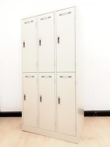 【2台入荷】【鍵付き】新品6人用ロッカーおまたせしました!蓮田入店◆生興製