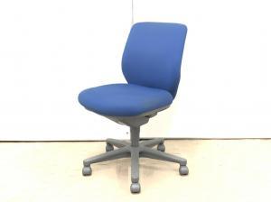 【6,000円台でこの座り心地が!】コクヨ(KOKUYO)セディスタ ローバック ■色:ブルー 肘無し