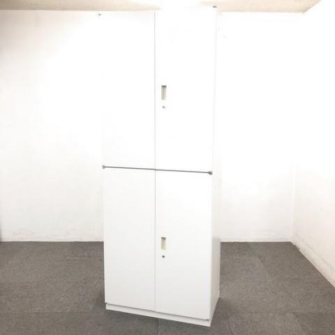 【2セット入荷】上下計6段収納・フルオープン可能な観音開き戸ハイキャビネット!!