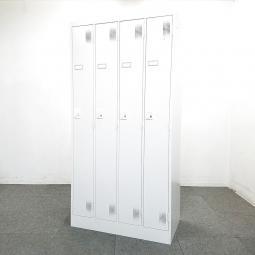【2台入荷】人気の4人用ロッカーが入荷しました!中古 ロッカー 更衣室 オフィス