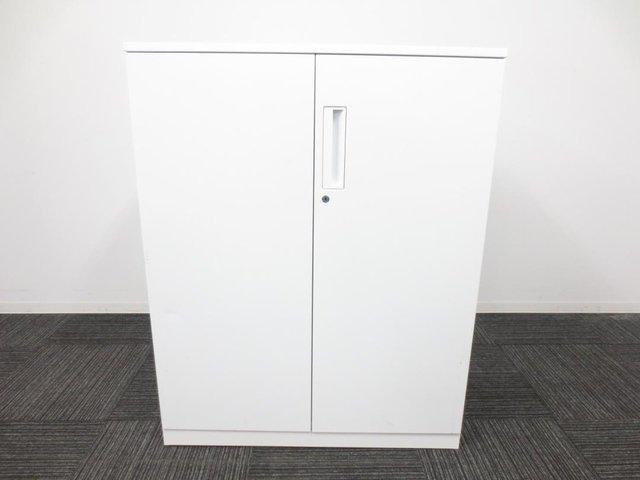 両開き書庫|内田洋行製|HSシリーズ|棚板2枚で、3段に分かれて収納可能                         HS                                     中古
