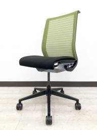 【スチールケースSteelcase/シンクチェア(Think chair)】快適な背もたれメッシュ ワイヤーが体の動きに合わせて伸縮しサポート!!