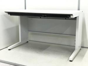 【1台のみ入荷!】1000mm幅の省スペースデスク入荷!増員用にもおすすめです!コクヨ|iS|ホワイト|1000mm|平机