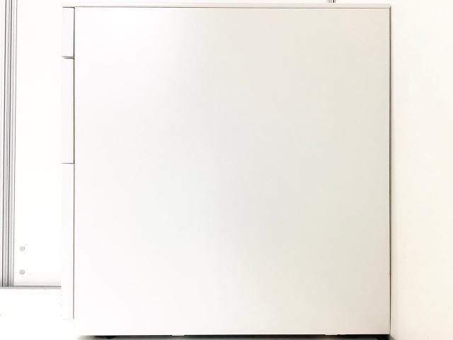 【ダイヤル錠タイプ入荷!】■ウチダ STシリーズ 3段ワゴン ホワイト【セキュリティもバッチリ!】                         STワゴンシリーズ                                     中古
