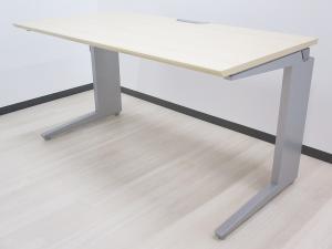 【在庫入替セール品】木目天板の平机 W1200タイプ 事務机 シンプル&高品質