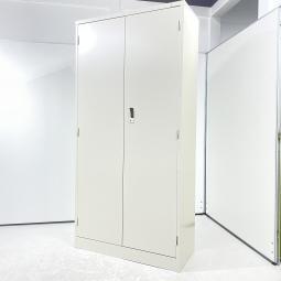 【新古品】生興 両開き書庫 ハイキャビネット ニューグレー H1790 収納 オフィス