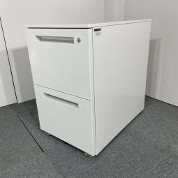 【関西倉庫在庫】イトーキ CZR ホワイト 2段ワゴン 収納 オフィス