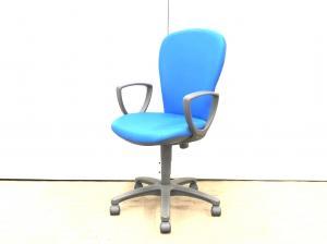 【肘付きで安い!】コクヨ(KOKUYO)レグノ2 ブルー ■色:ブルー ハイバック 固定肘