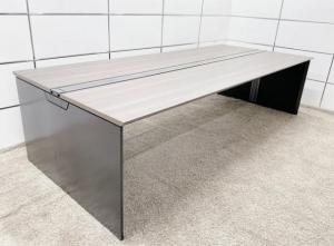 【おしゃれなデスク】天板2800mmで境目なし/オフィスに無限の可能性/入替