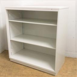 H980 オープン書庫 イトーキ ホワイト 天板付き