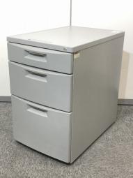 【5台】3段ワゴン イトーキ製(itoki) CZシリーズ デスク下収納 書類・小物整理にオススメです!【在庫入替】