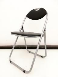 【パイプ椅子】オーソドックスなパイプ椅子です!!取っ手付きで持ち運び、折り畳みも簡単です!