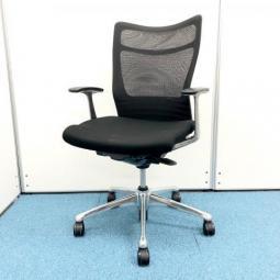 もっと座り安く、もっと仕事しやすく【オカムラ/フィーゴ】がサポートします/メッシュ/ブラック