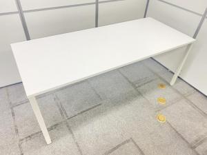 【定価約10万円!!ホワイトカラーの人気1800mm幅サイズのミーティングテーブルの入荷です!!】■内田洋行■ノティオ