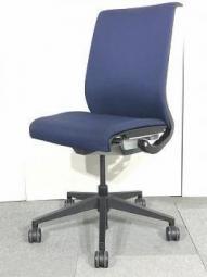 【100脚入荷!】|事務椅子|オフィスチェア|Steelcase|スチールケース|シンク |Think |ネイビー|リクライニング |【関西倉庫在庫】