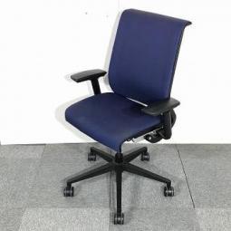 【65脚入荷!】|事務椅子|オフィスチェア|肘付き|Steelcase|スチールケース|シンク |Think |ネイビー|リクライニング |【関西倉庫在庫】