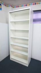 【定価約7万円!!訳あり商品!!棚板5枚の6段収納オープン書庫の入荷です!!】■オカムラ■レクトライン