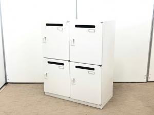 【書類投函口付きで便利!】 4人用のパーソナルロッカーが入荷! ダイヤル解錠式です!