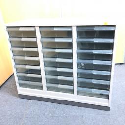 【3台入荷!】窓下サイズ!希少クリスタルトレー書庫が多数入荷!中古 オフィス 家具