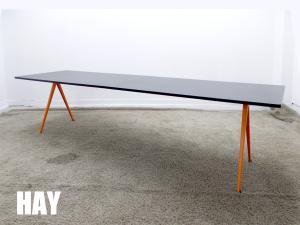 【展示品】HAY / ヘイ PYRAMID TABLE / ピラミッド テーブル  ブラックxオレンジ デンマーク 北欧