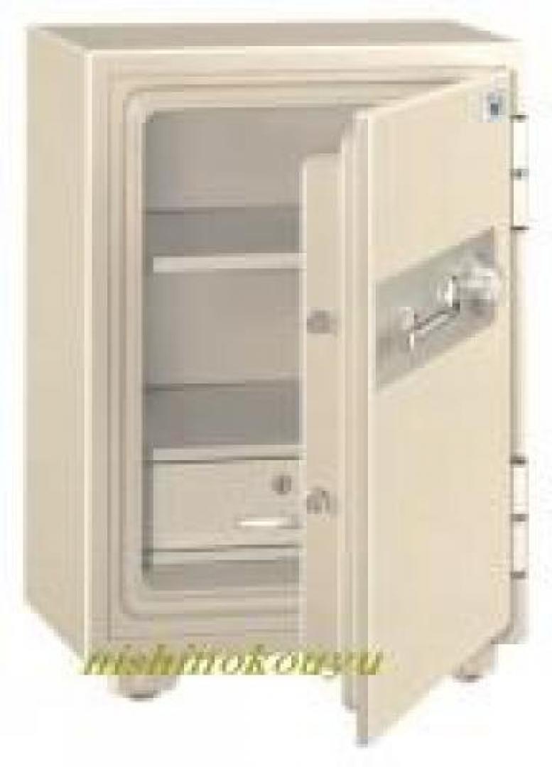 エーコー製 耐火金庫 内寸 幅325 × 奥行335 × 高さ470mm  カテゴリー上は家庭用ですが、オフィスにもどうぞ