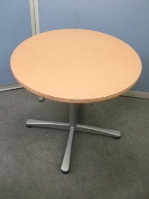 UCHIDA(内田洋行)製 丸テーブル【750φ】【ぞくぞく】                                     中古