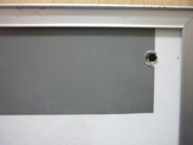 ■文字・線の欠けあり■ 壁に打ち付け方式の行動予定表                                     中古