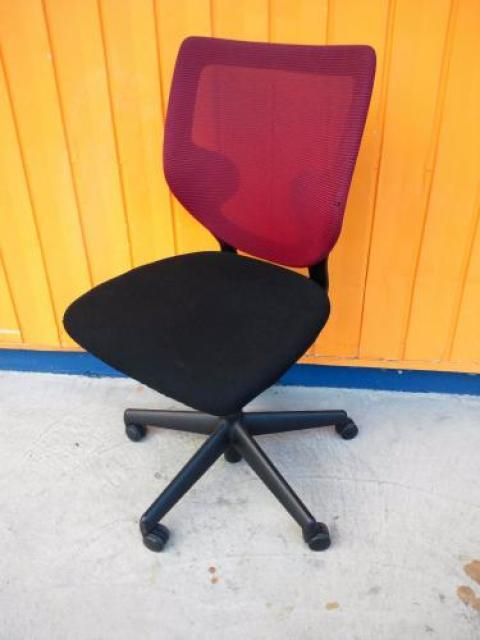 キールハワー製オフィスチェア シンプル9323チェア メッシュバック【OAチェア】                                     中古