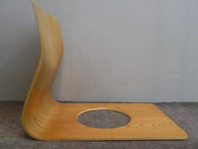 ■天童木工 ■座椅子4脚セット                                     中古