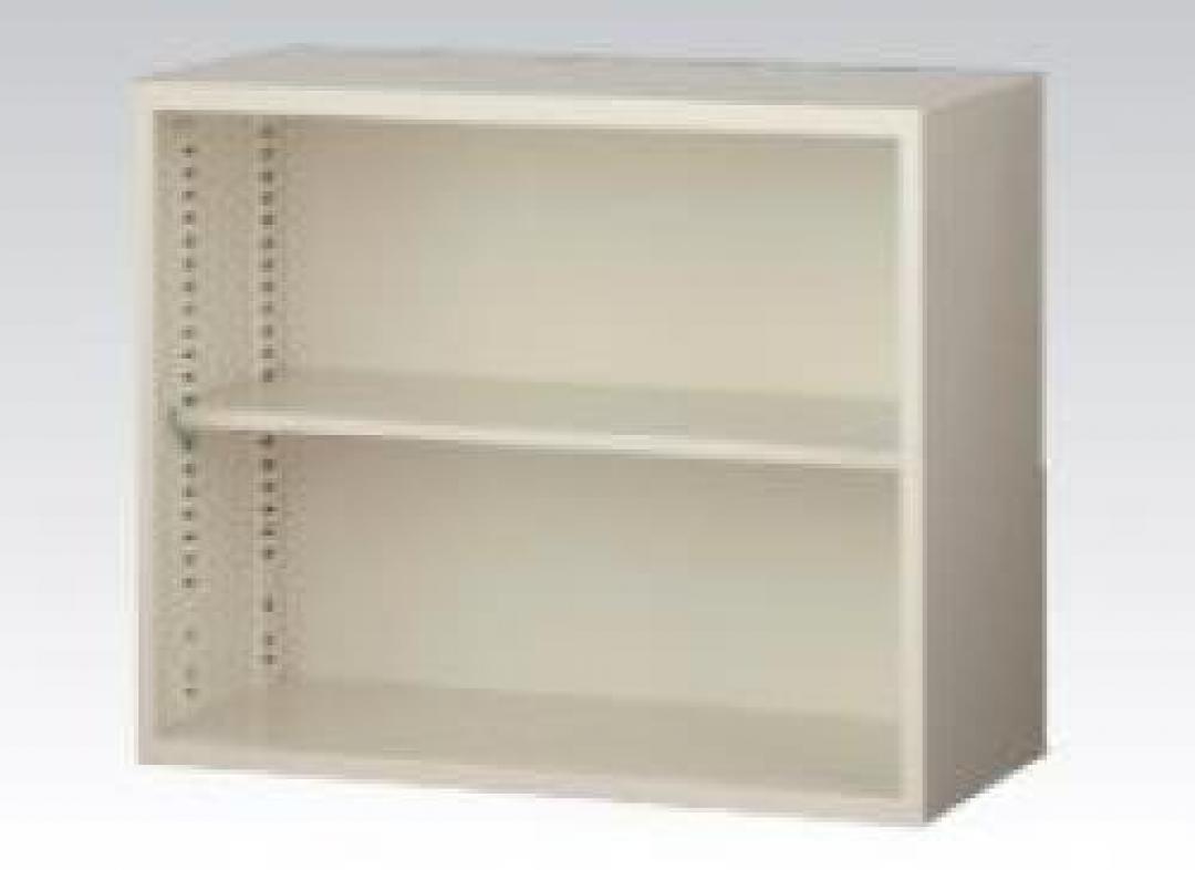 【収納家具】上置用オープン書庫 A4ファイル対応【事務用品】