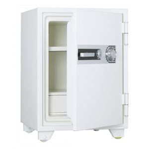 【事務用品】耐火金庫 容量52ℓ 1時間耐火 ダイヤル式