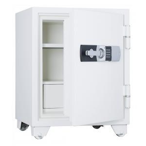 【事務用品】耐火金庫 容量87ℓ 2時間耐火 テンキー式
